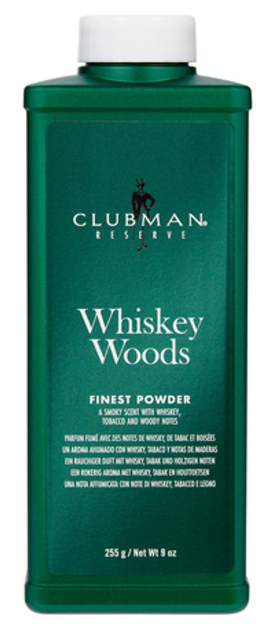 Clubman Reserve Powder Whiskey Woods