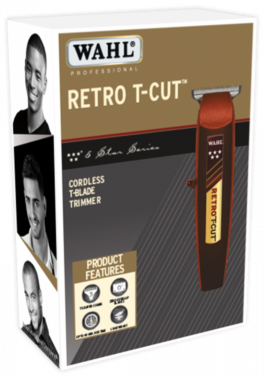 Wahl Retro T-Cut Cordless Trimmer