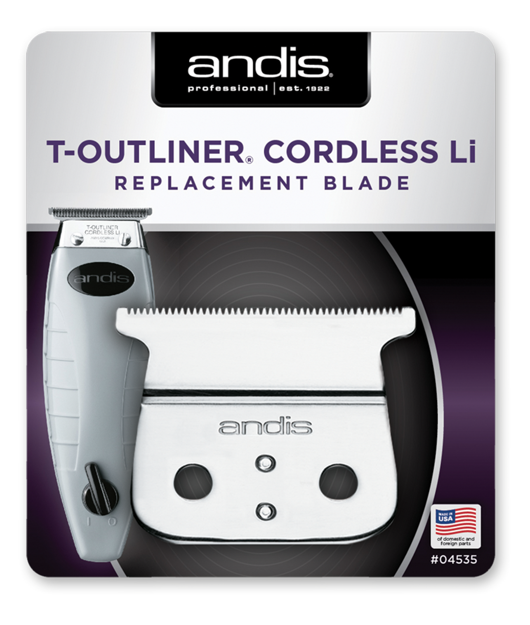 Andis Cordless T-Outliner Blade