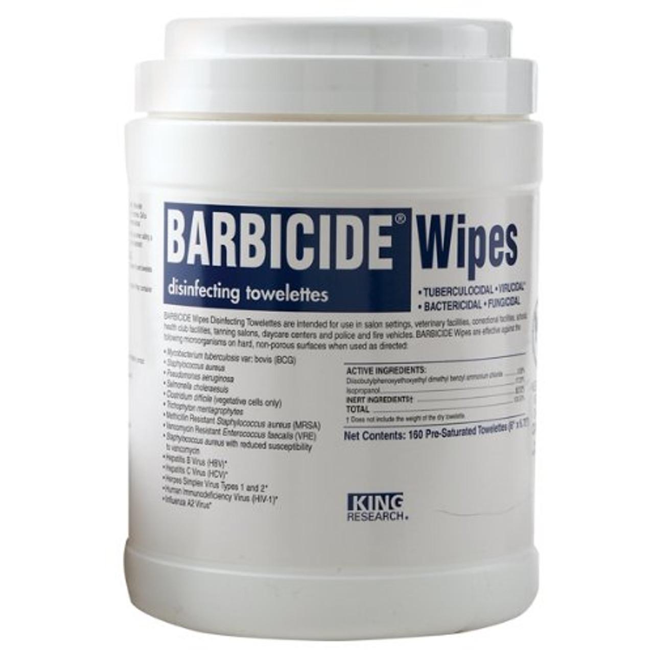 Barbicide Wipes