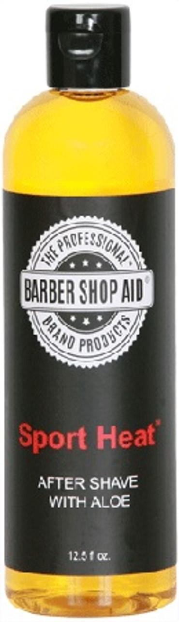 Barber Shop Aid Sport Heat After Shave