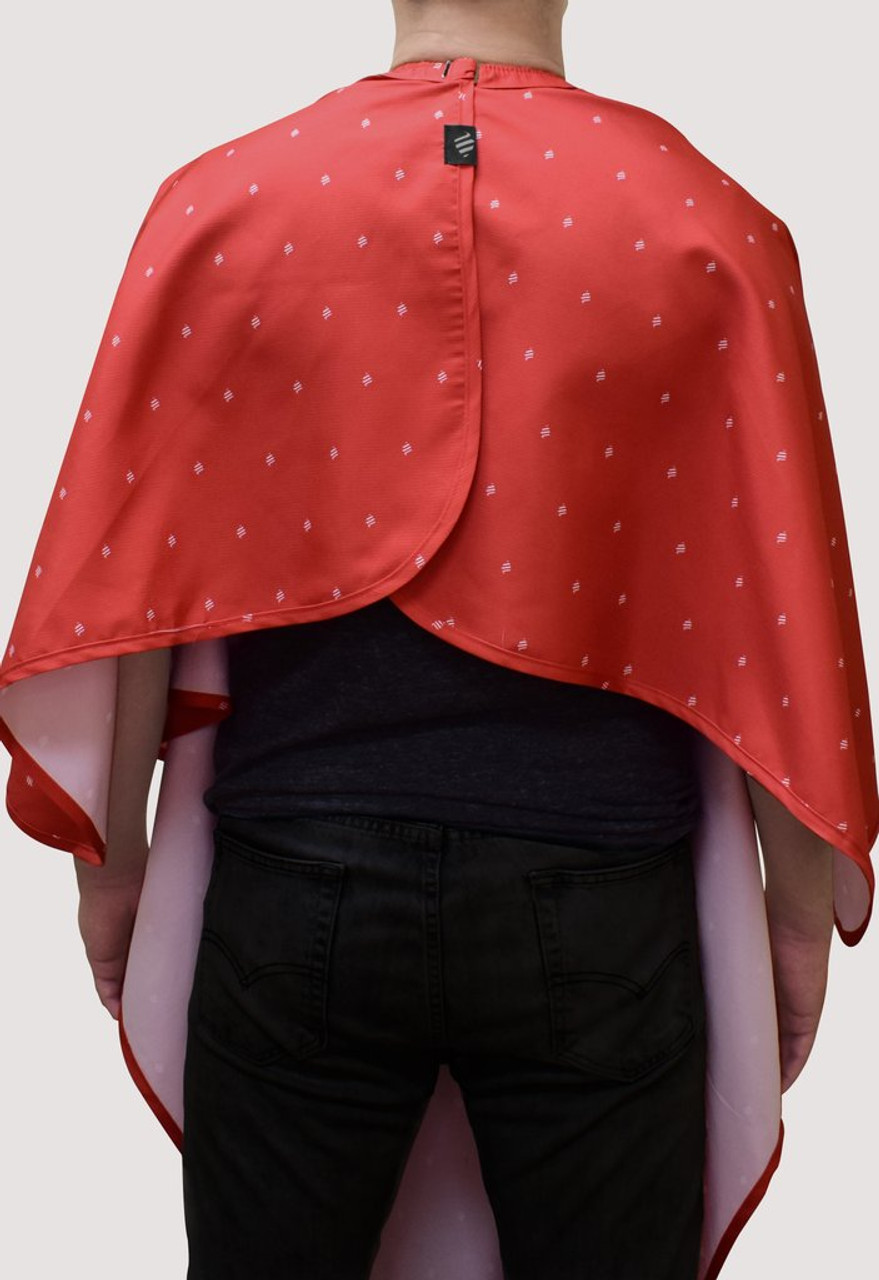 Cutting Cape - Barber Strong Shield Red