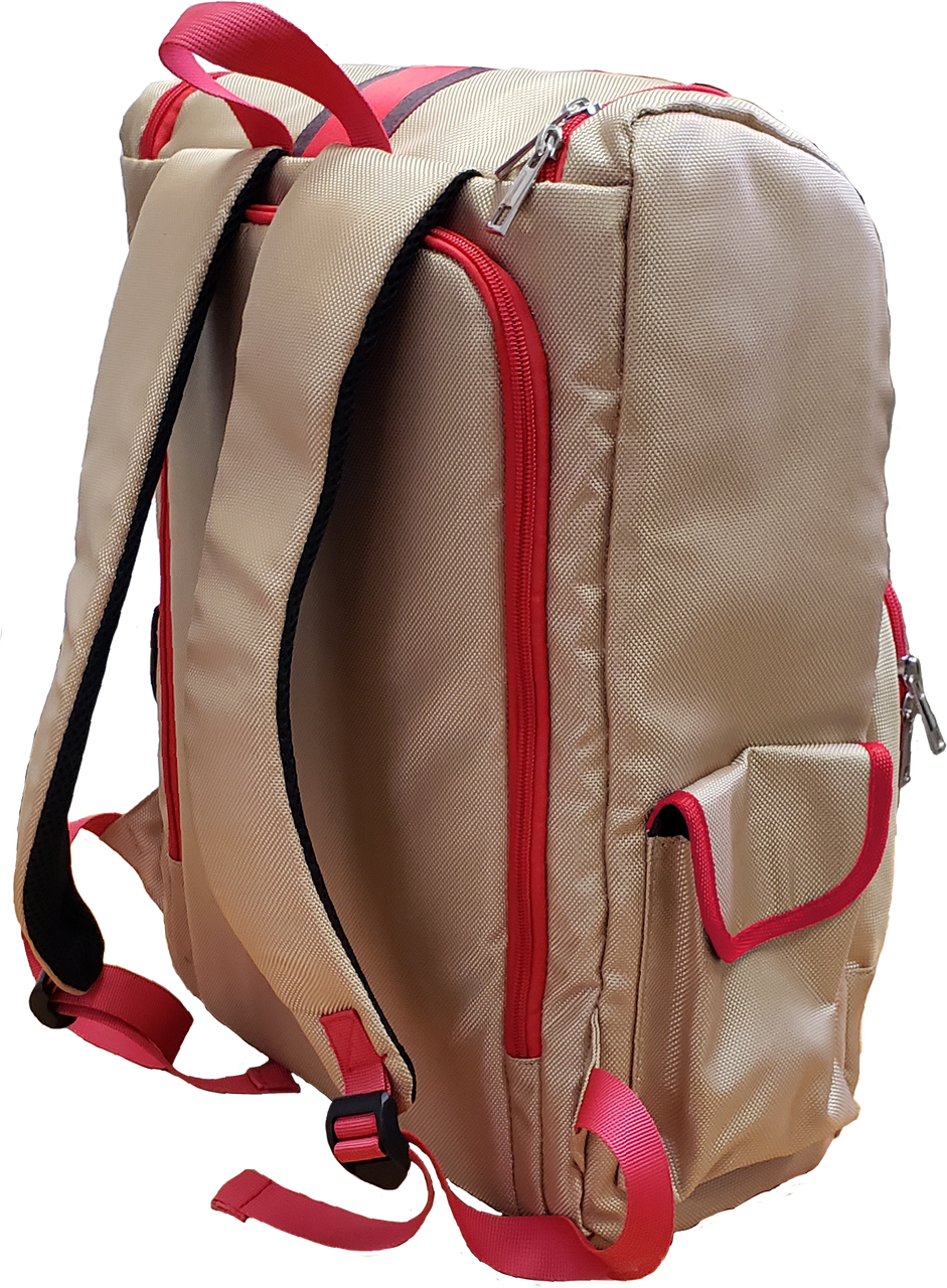 Backpack - Beige Classic by Vincent