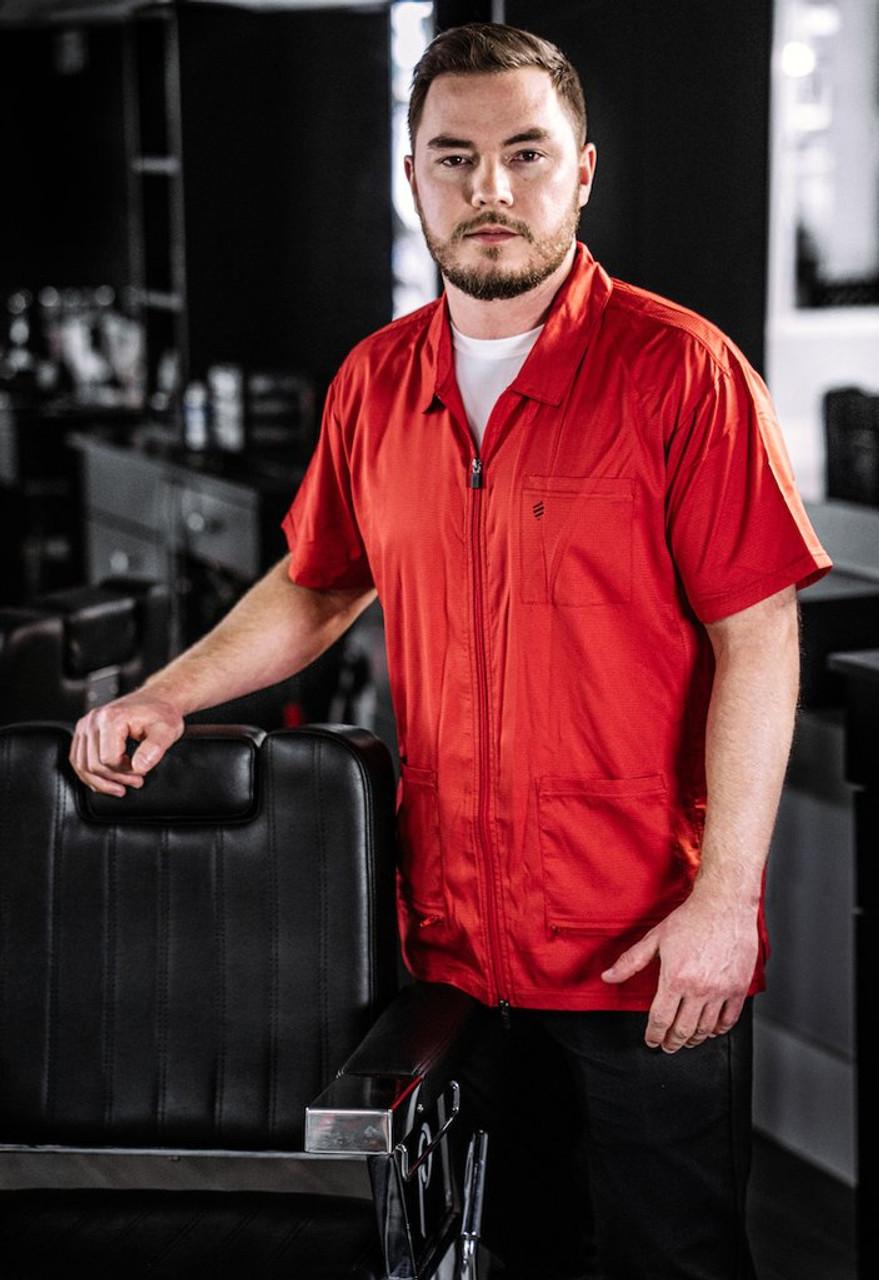 Barber Jacket - Barber Strong Red