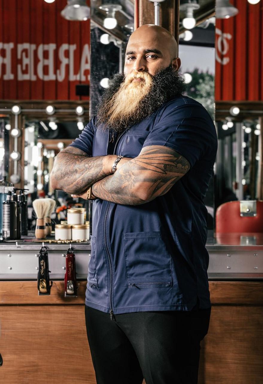 Barber Jacket - Barber Strong - Blue