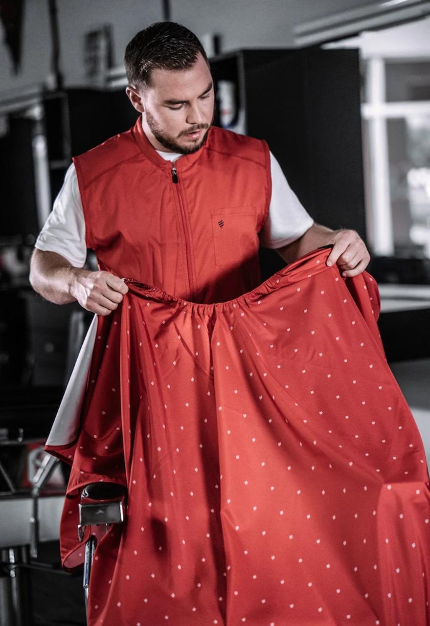 Barber Vest - Barber Strong Red