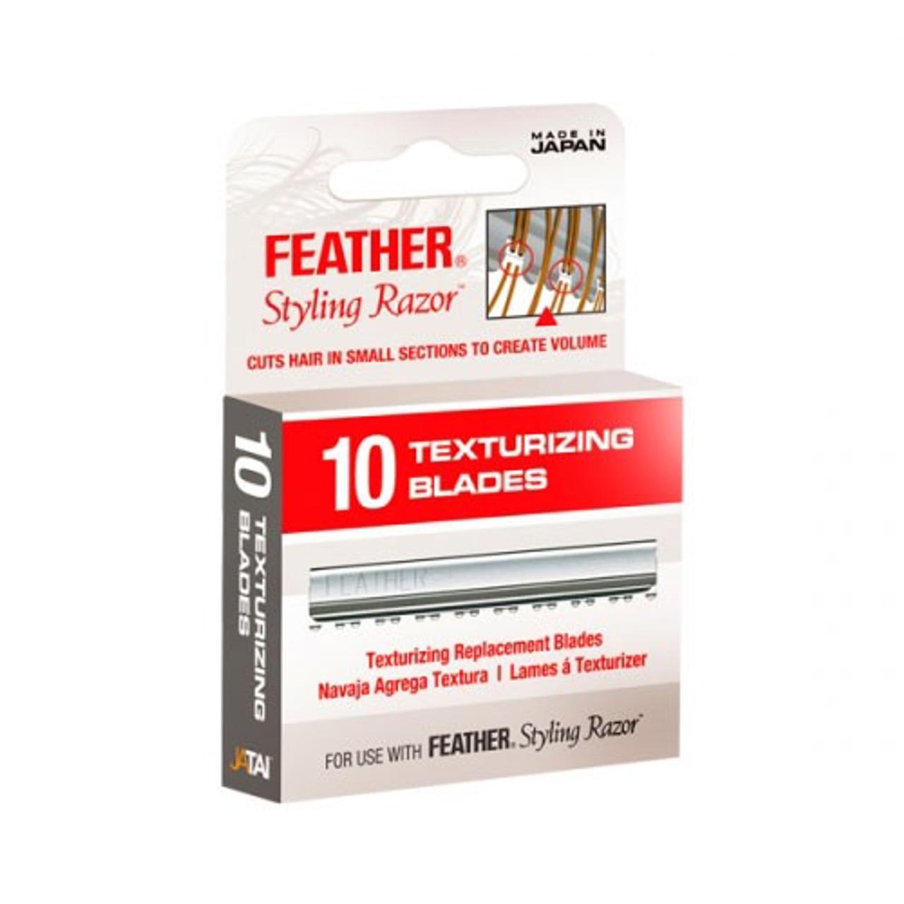 Feather Texturizing Blades
