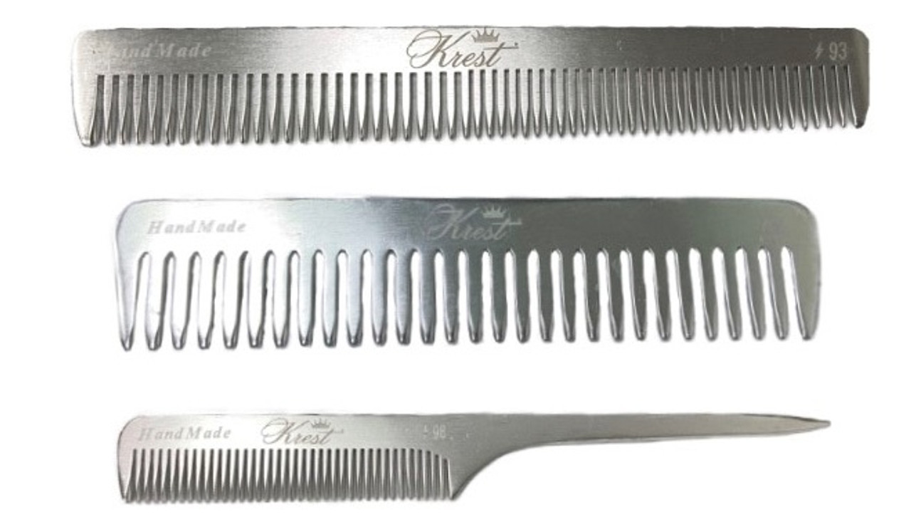 Aluminum Combs by Krest - 3 Choices