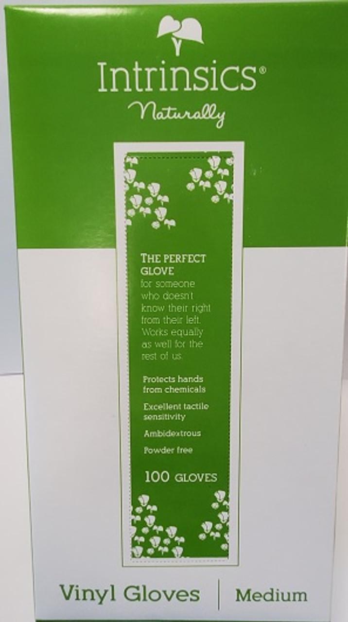 Gloves - Vinyl White Powder Free 100 ct. box
