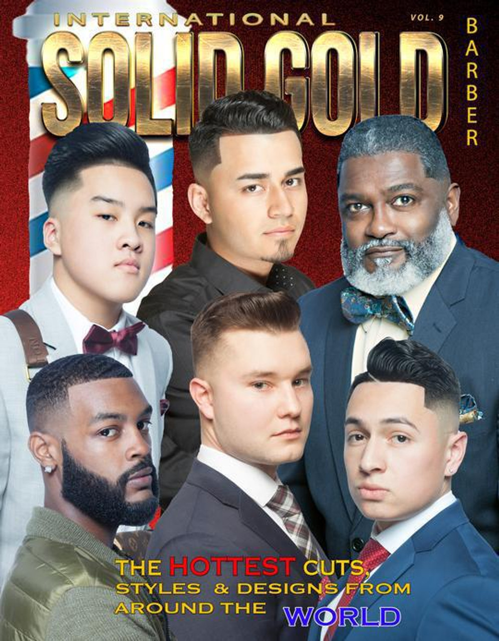 Solid Gold International Barber Book  Vol. 9