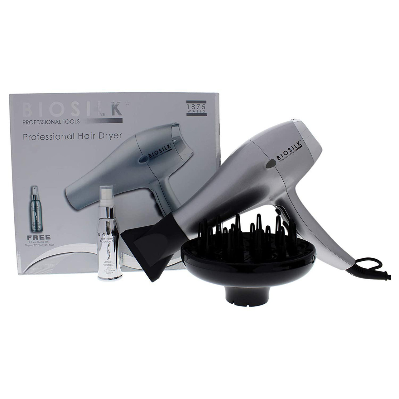 BioSilk Professional Hair Dryer 1875W - Special Buy - While Supplies Last!