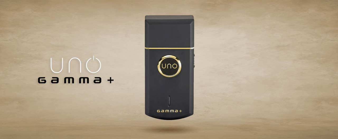 Gamma + Uno Shaver Black