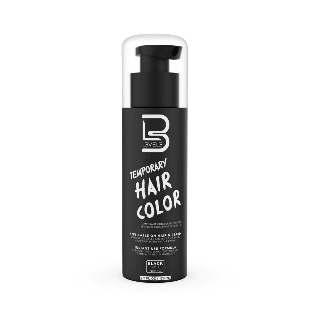 Level3 Beard Color Black