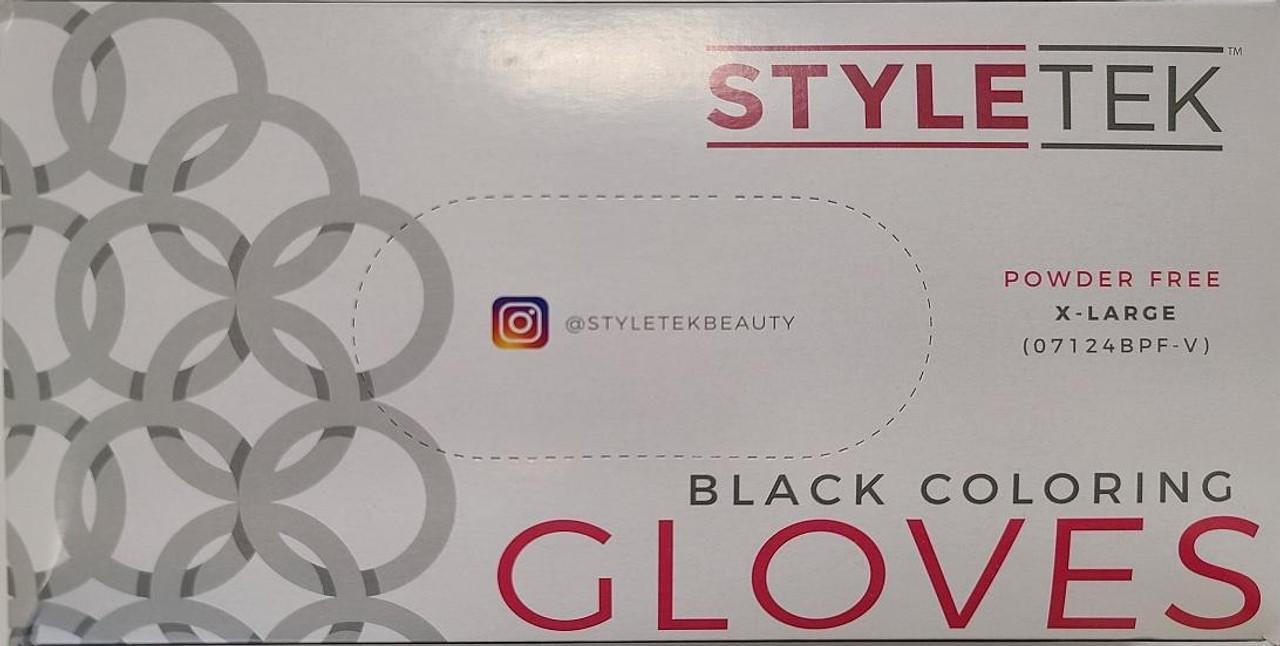 Gloves - Black Vinyl XL