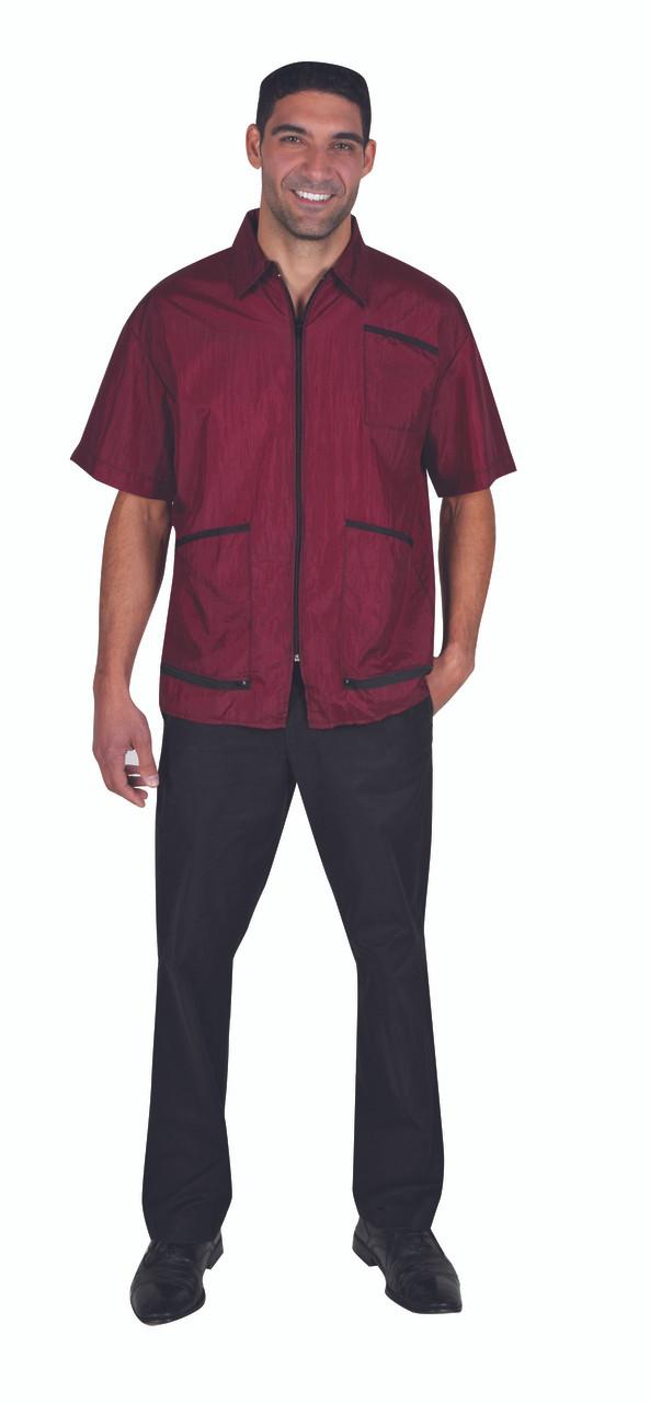 Barber Jacket - Zip Bottom Pocket