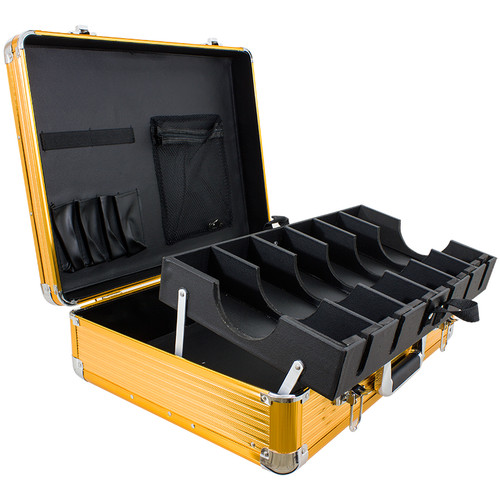 Clipper and Accessory Carry Case Large Gold