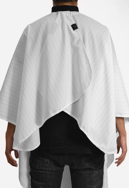 Cutting Cape - Barber Strong White