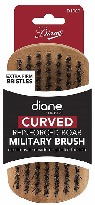 Diane Curved Brush - Extra Firm Bristles