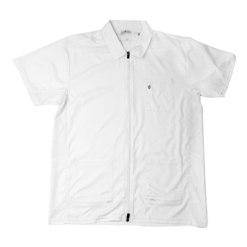 Barber Jacket - Barber Strong in White