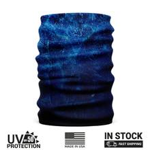 Blue Splatter Logo Buff