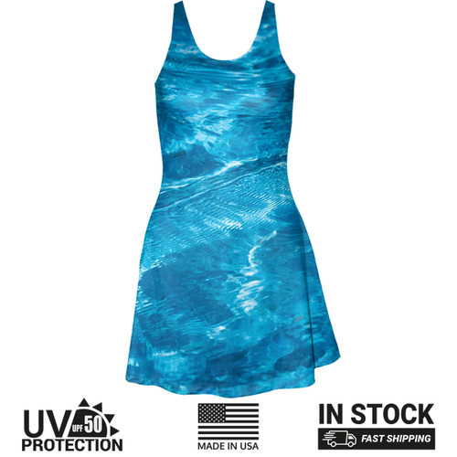 Surf Blue Sundress