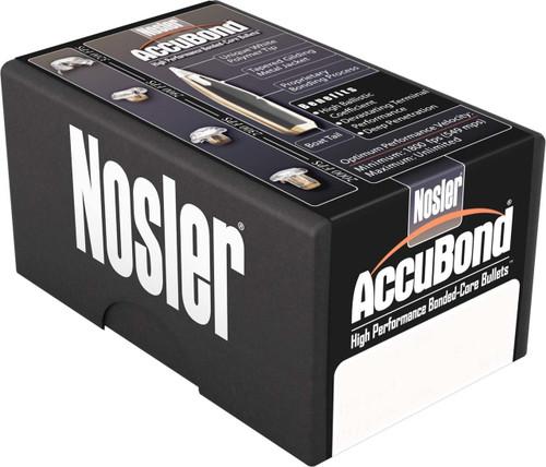Nosler Accubond Bullets 270 Caliber .277 Diameter 130 Grain Spitzer