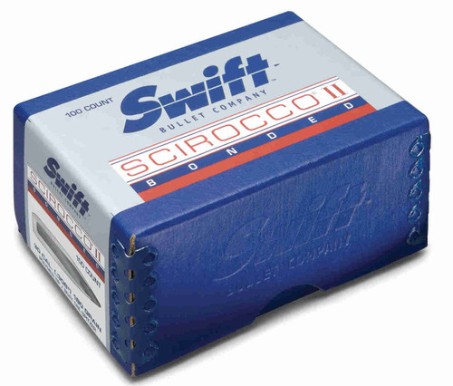 Swift Scirocco II Bullets 6.5mm Caliber .264 Diameter 130 Grain