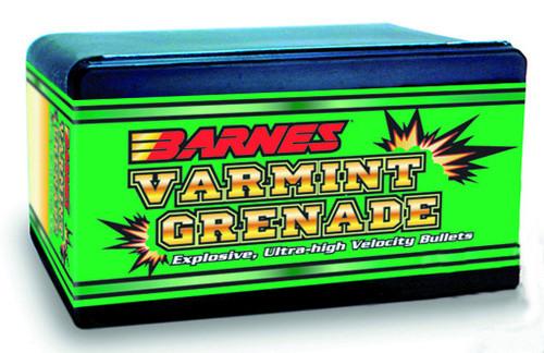 Barnes Varmint Grenade Bullets 6mm Caliber .243 Diameter 62 Grain
