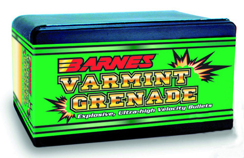 Barnes Varmint Grenade Bullets 6mm Caliber .243 Diameter 62 Grain