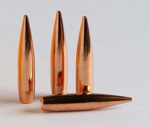 Berger Hybrid Target Bullets 30 Caliber  308 Diameter 215 Grain, Spitzer,  12 pack