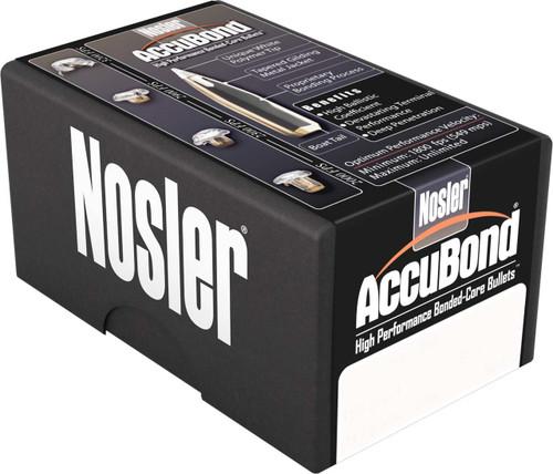 Nosler Accubond Bullets 6.5mm Caliber .264 Diameter 140 Grain Spitzer