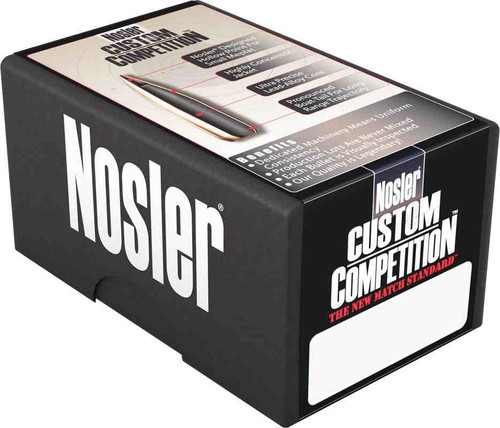 Nosler Custom Competition Bullets 6.5mm Caliber .264 Diameter 140 Grain