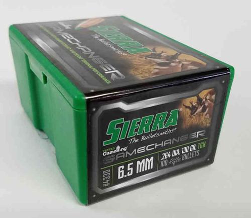 Sierra GameChanger - Tipped GameKing Bullets 6.5mm Caliber .264 Diameter 130 Grain