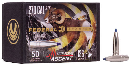 Federal Terminal Ascent 270 Caliber .277 Diameter 136 Grain