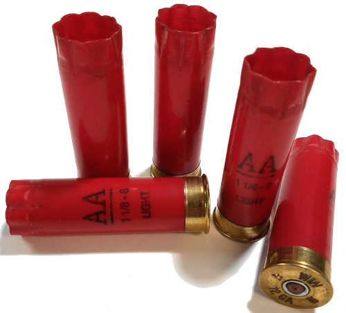 Winchester Red 12ga Once Fired Hulls