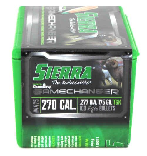 Sierra GameChanger - Tipped GameKing Bullets 270 Caliber .277 Diameter 175 Grain