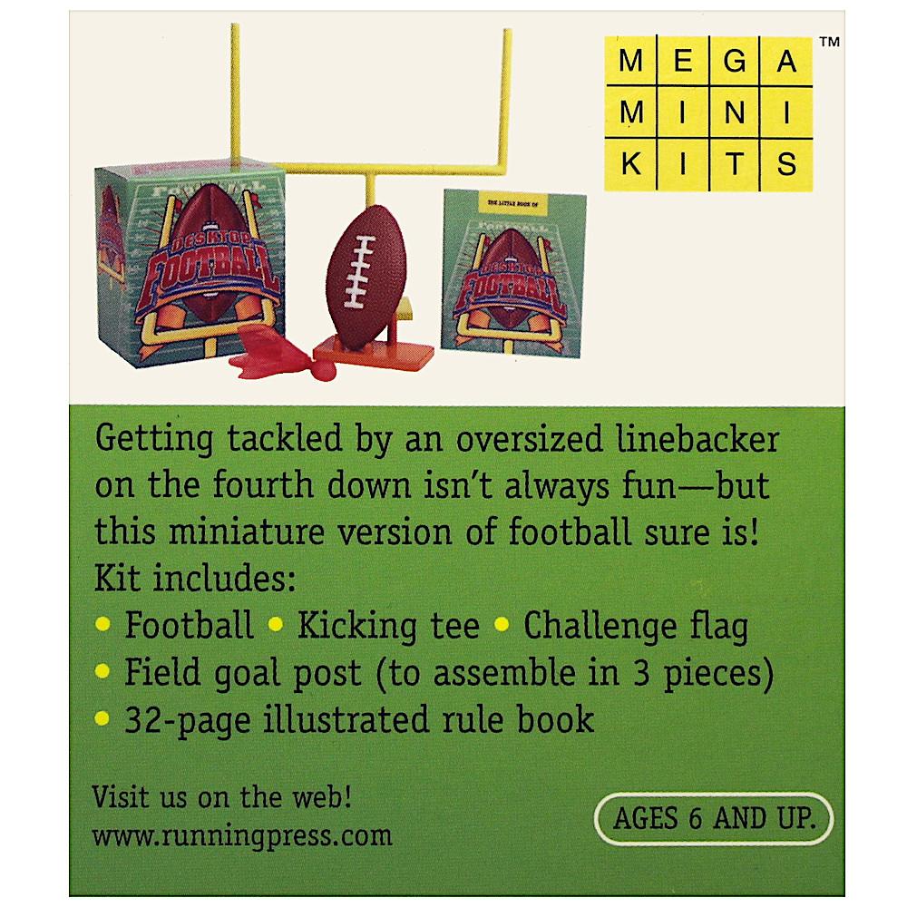 Desktop Football Deluxe Mega Kit Miniature Editions