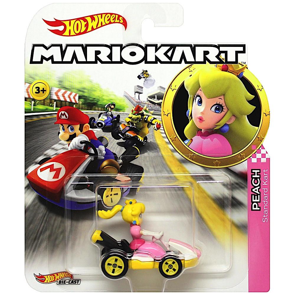 Princess Peach Super Mario Kart Character Car Diecast 1:64 Scale