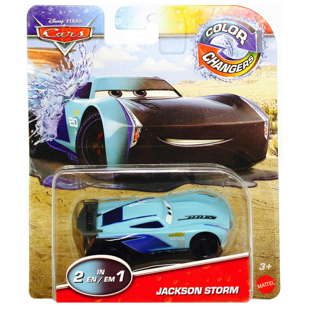 Jackson Storm Disney Cars Color Changers 1/55 Scale