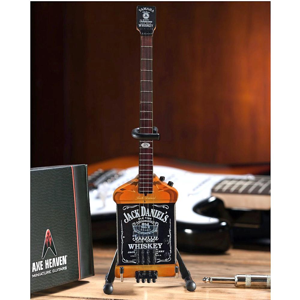 Michael Anthony Jack Daniel's Bass Mini Guitar Replica