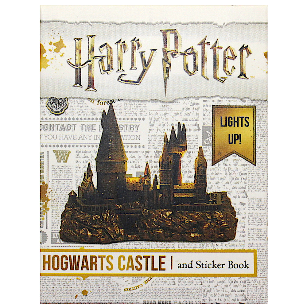 Deluxe Mega Kit Hogwarts Castle and Sticker Book Harry Potter Miniature  Editions