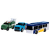 Micro Machines Micro City with City Bus & Utility Truck