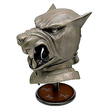 The Hound's Helmet Miniature Replica Game of Thrones Desktop Miniature Editions