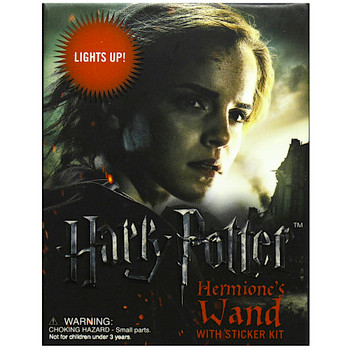 """Hermione's Light Up Wand Running Press Miniature Editions Harry Potter 3"""""""