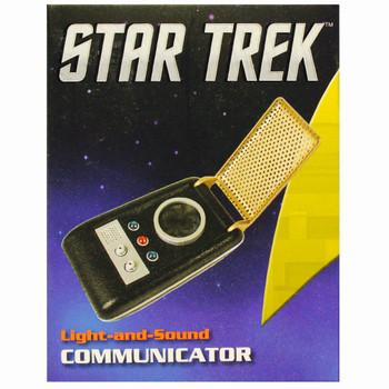 "Star Trek Communicator with Lights & Sounds Running Press Miniature Editions 3"""