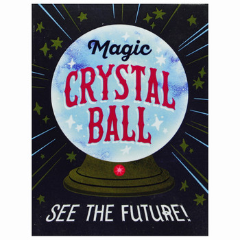 """Magic Crystal Ball with Lights and Sounds Miniature Editions 3"""""""