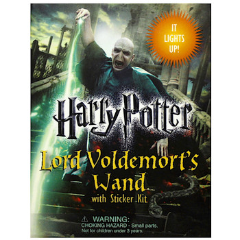 """Lord Voldemort Light Up Wand Miniature Editions Harry Potter 3"""""""