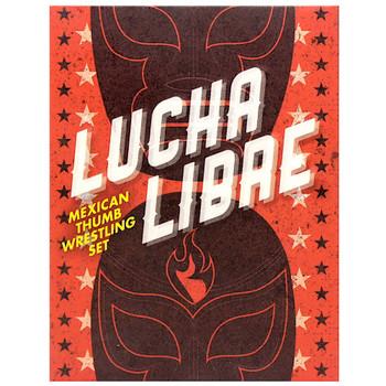 Lucha Libre Mexican Thumb Wrestling Set Miniature Editions