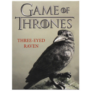 Three Eyed Raven Miniature Replica Game of Thrones Miniature Editions 3.5""