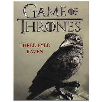 """Three Eyed Raven Game of Thrones Game of Thrones Running Press Miniature Editions 3.5"""""""